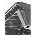 Exportpallet 1200x800x130mm, open dek