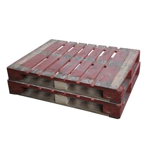 Blokpallet 1200x1000x162mm, gebruikt