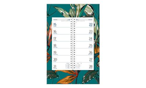 Kalenders op schild