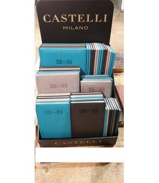 Adresboekenpakket Cayenne (40 stuks)  incl. display. Dit adresboekenpakket bestaat uit: Luxe kartonnen display, 10 x adresboek Cayenne maat S, 10 x adresboek Cayenne maat M, 10 x adresboek Cayenne maat L, 10 x adresboek Cayenne maat XL