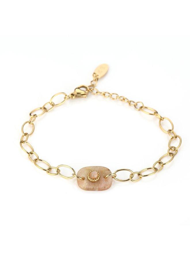 IBIZA-Armband : Yellow/Gold