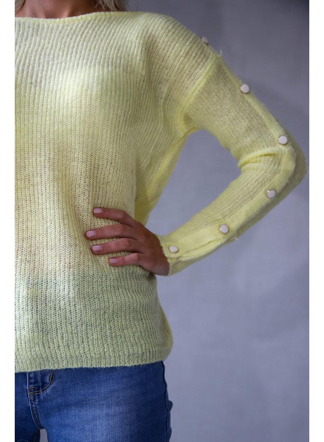 Saguenay Sweater : Geel