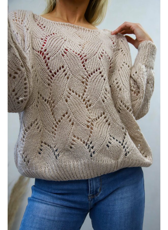 Florence Sweater :Soft Roze