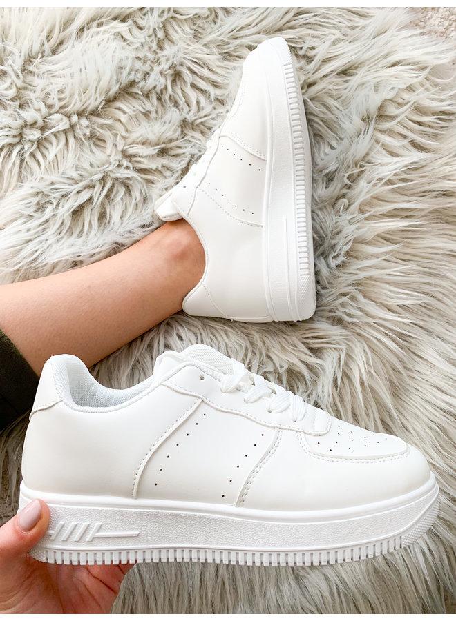 Vacay Vicky Sneaker : Wit