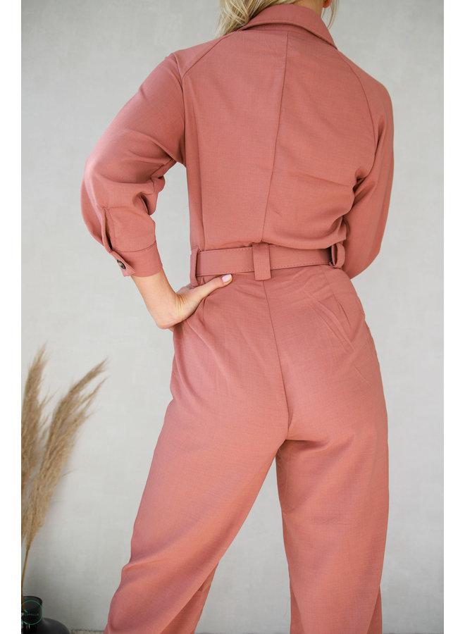 Janesville Jumpsuit : Roze