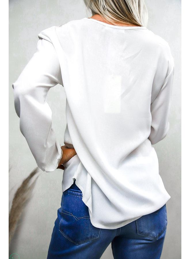 Bago Blouse : Wit