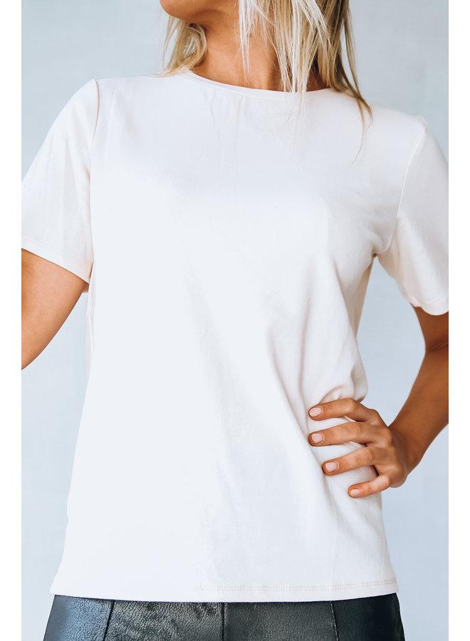 Fairfield t-shirt : Ecru