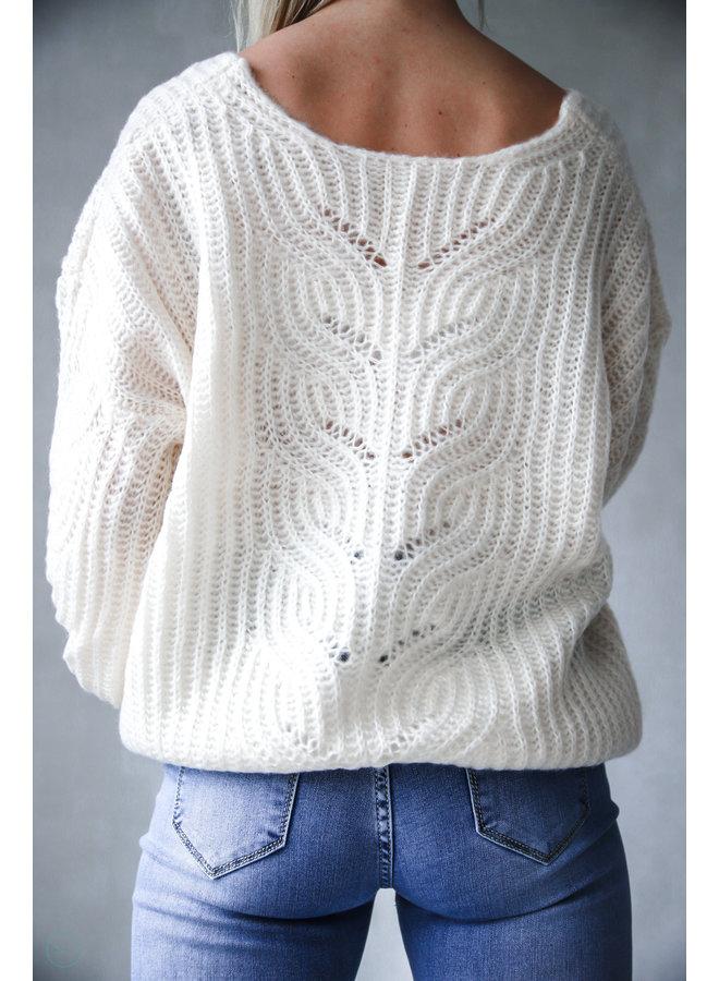 Cagua Casual Sweater : Beige