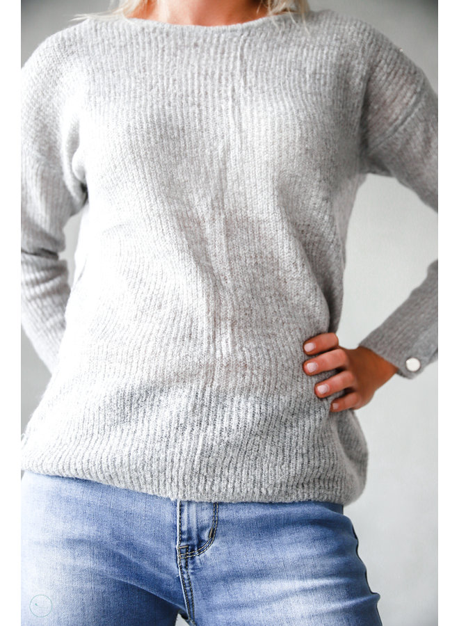 Saguenay Sweater : Grijs
