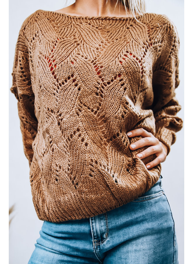 Florence Sweater : Bruin