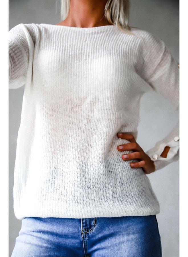 Saguenay Sweater : Ecru