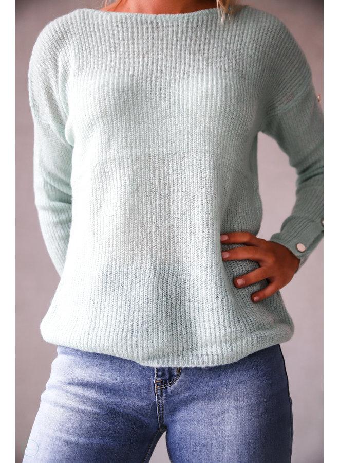 Saguenay Sweater : Groen