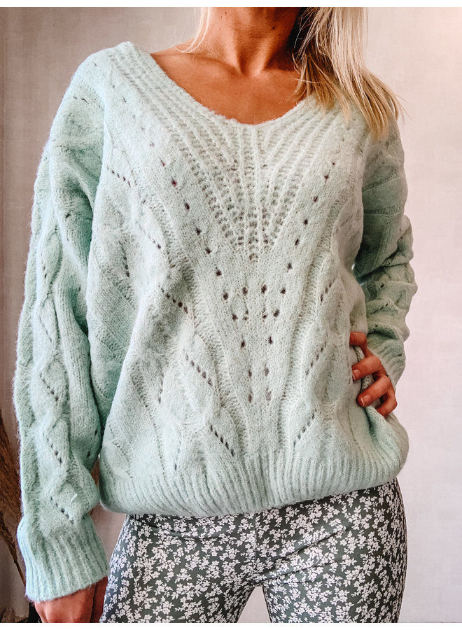 Bogotá Sweater : Groen