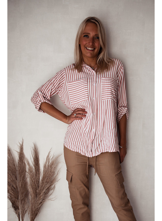 Bilbao Hemd : Rood/Wit