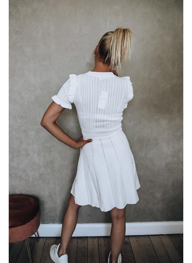 St. Tropez kleedje : Wit