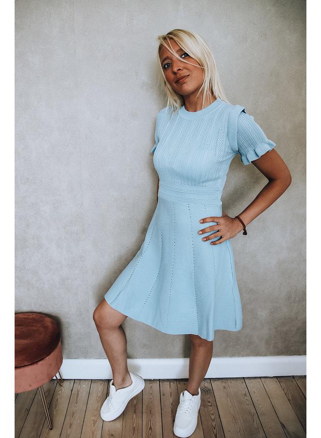 St. Tropez kleedje : Blauw