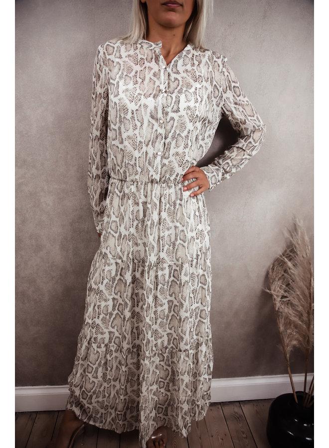Bianca Dress SnakePrint