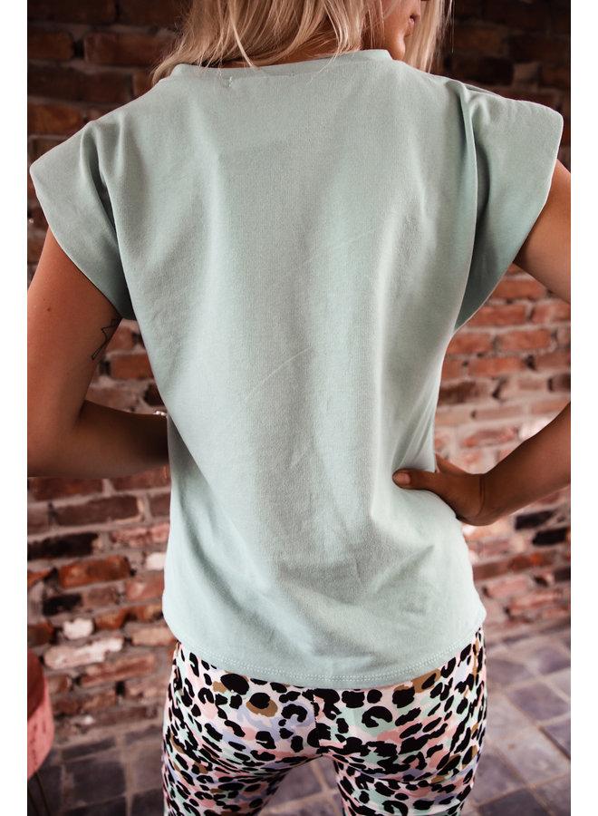 Cali T-shirt : Groen