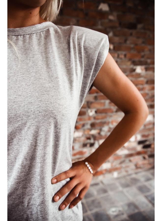 Cali T-shirt : Grijs