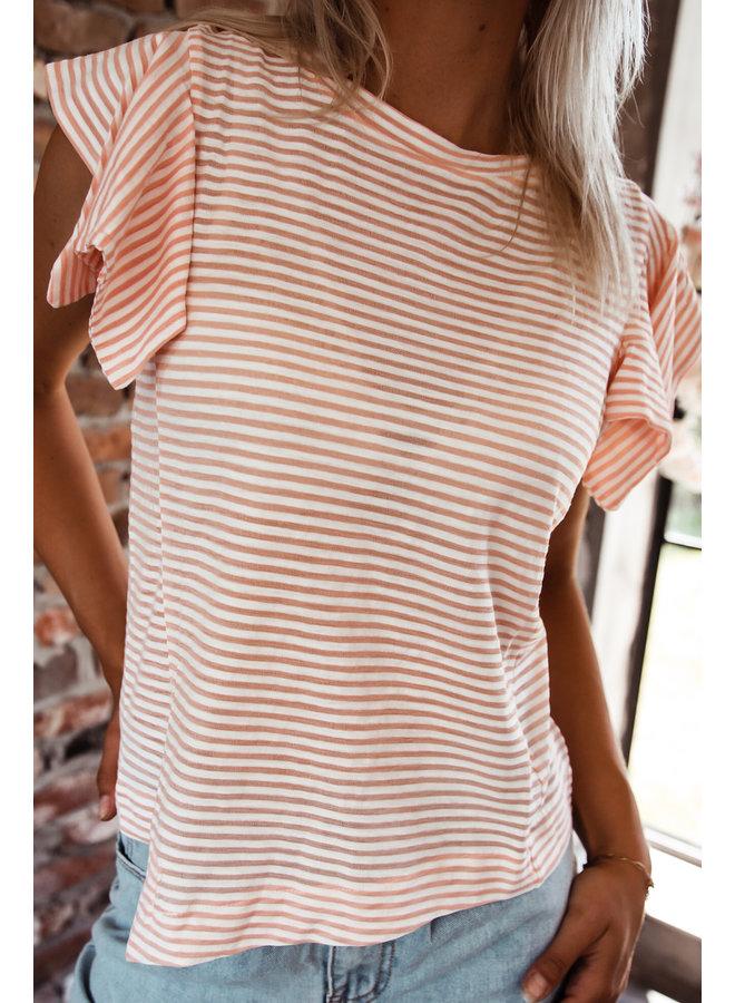 Lamia gestreepte t-shirt