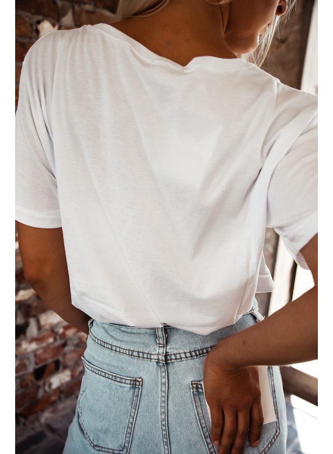 California Witte T-shirt