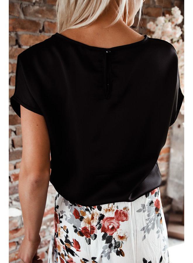 Toluca T-Shirt : Zwart