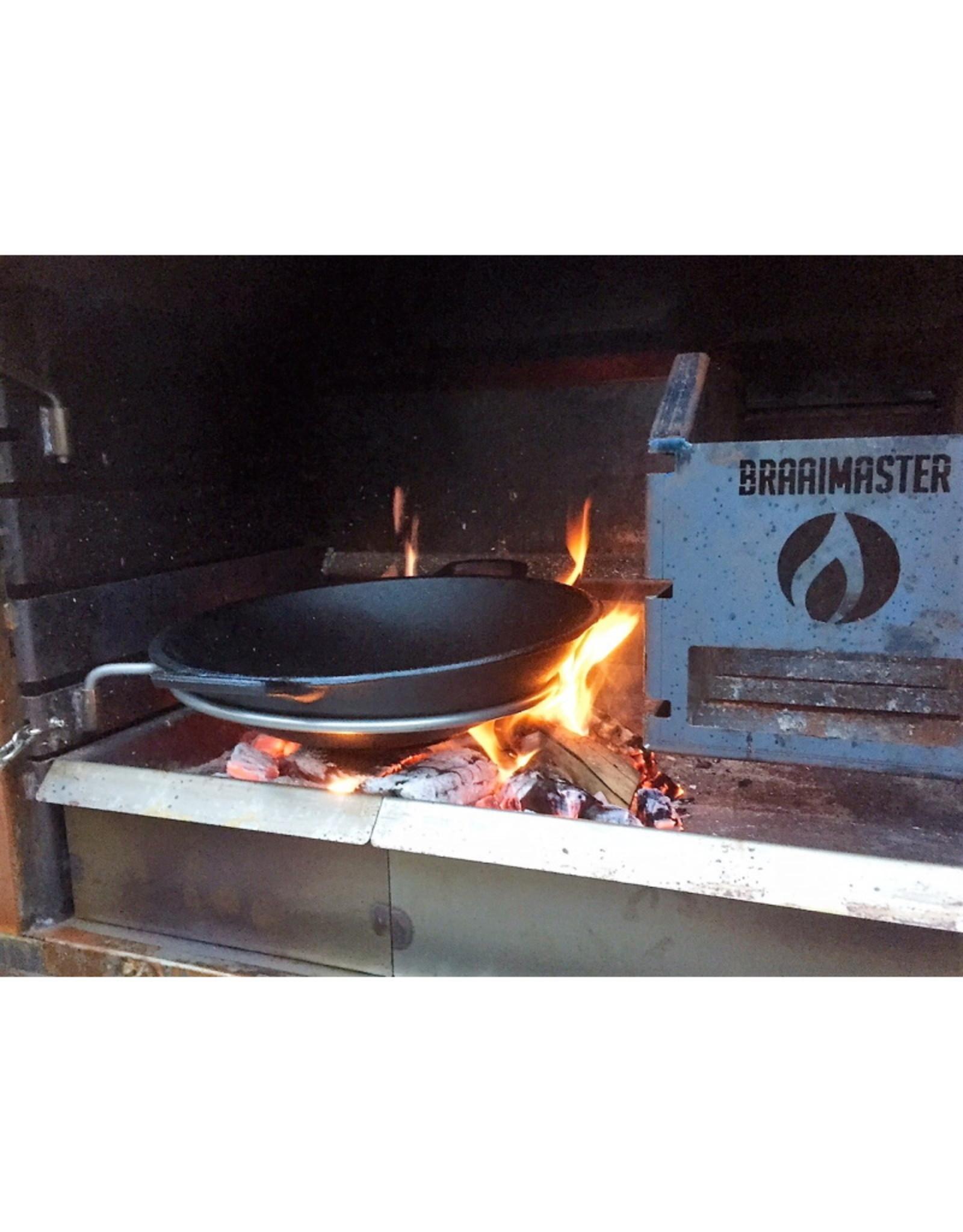 Braaimaster Cast Iron Wok