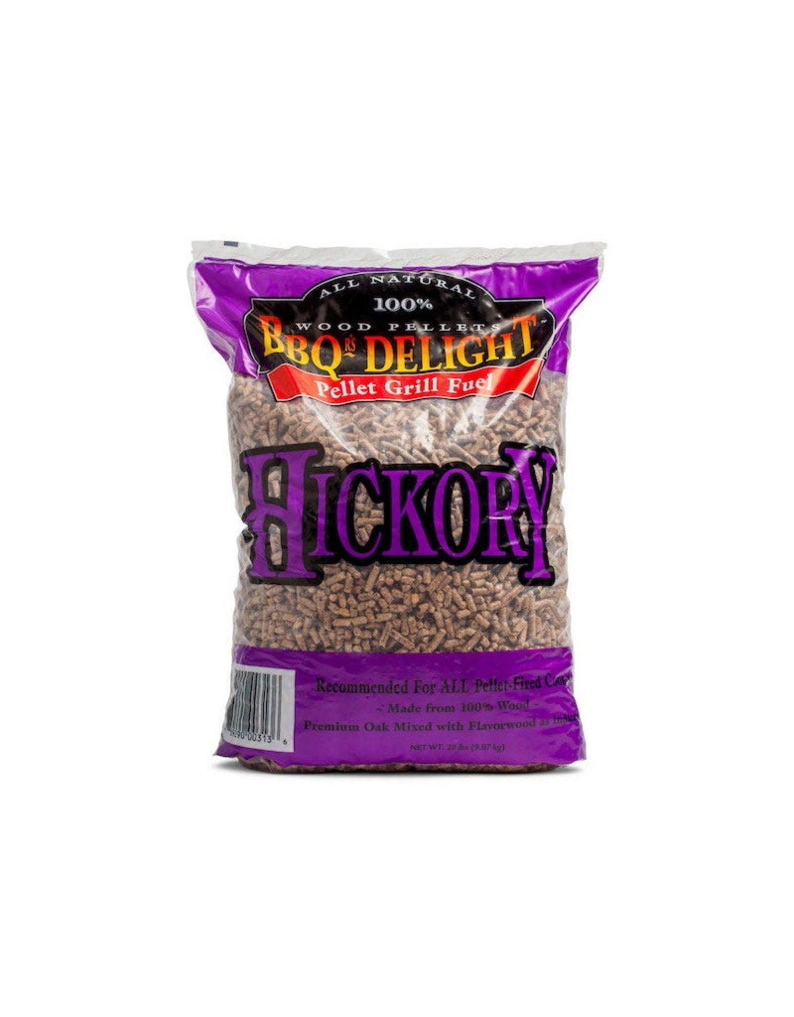 BBQr's Delight Pellets - 9kg Hickory