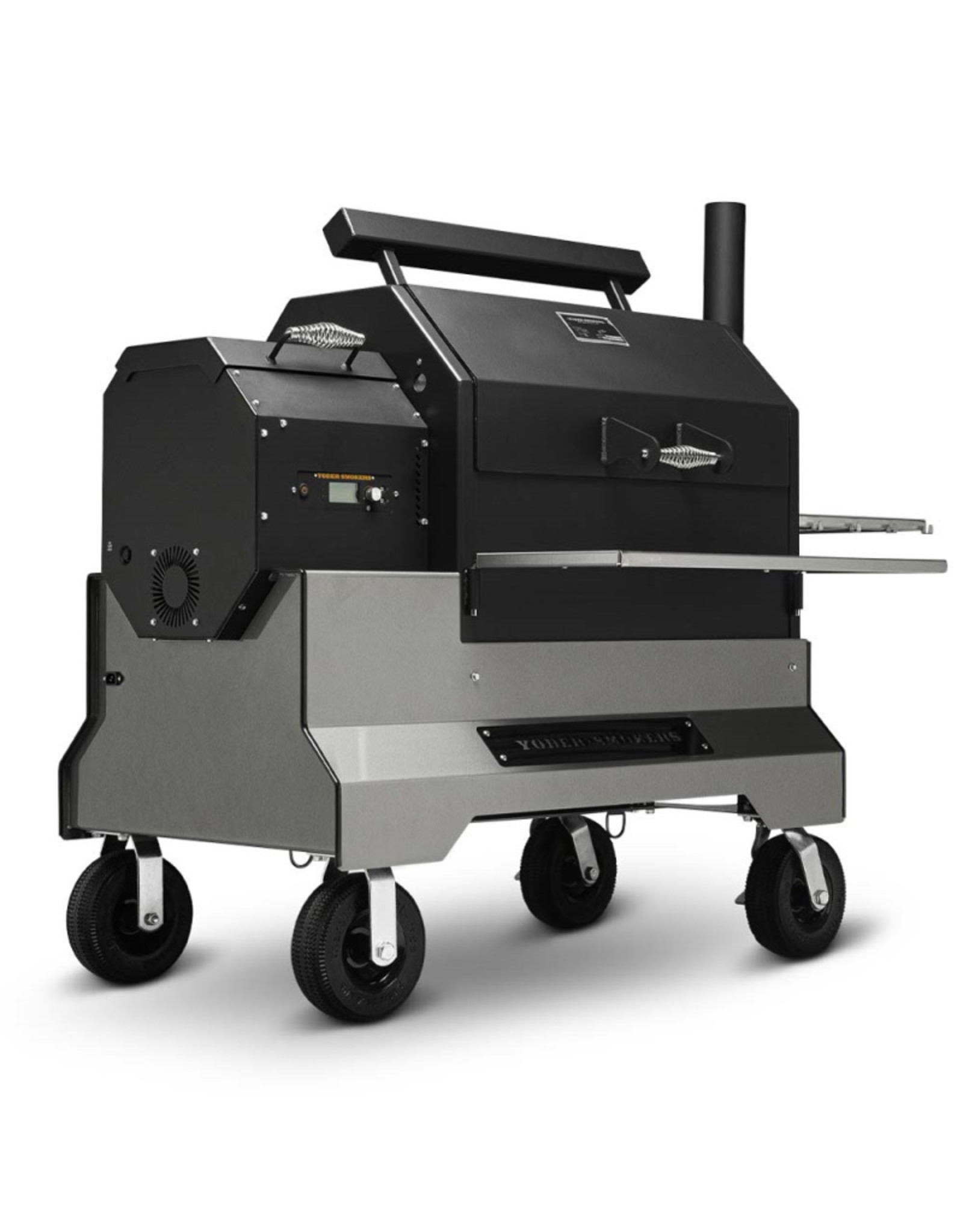 Yoder Smokers YS640s Pellet Grill - Competition Cart