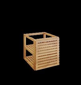 OFYR Storage insert PRO with 1 door Teak Wood Small