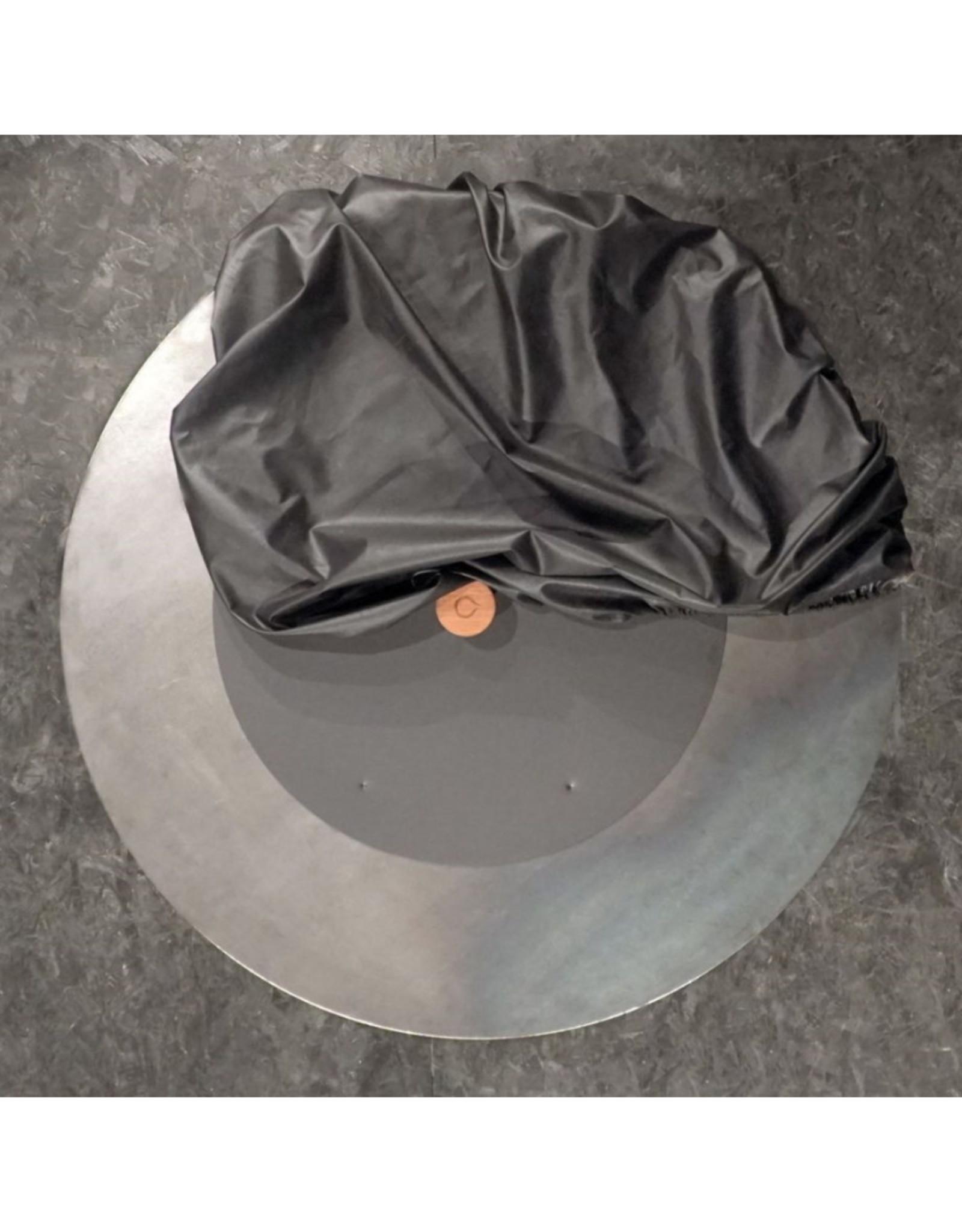 OFYR Doofdeksel Zwart en Afdekhoes Zwart Set XL