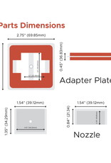 FireBoard Drive Fan Nozzle Adapter