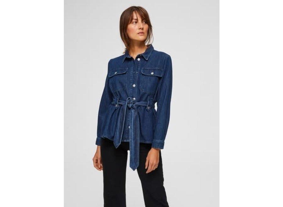 Dana jacket dark blue denim