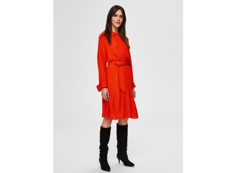Emery Vienna short dress orange SF