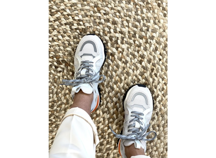 Sneaker Amy trainer white