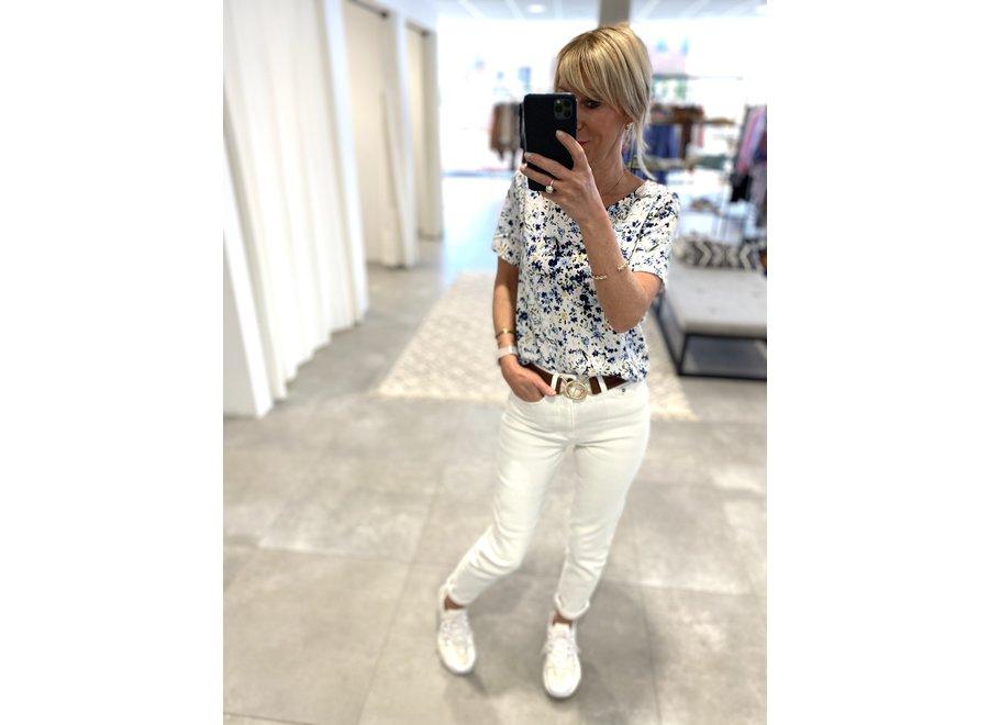 Astrid GZ mom jeans White