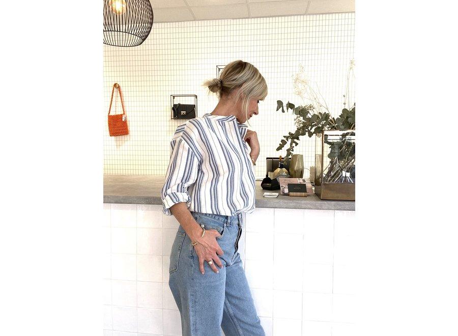 Breeza shirt Yas star white stripe