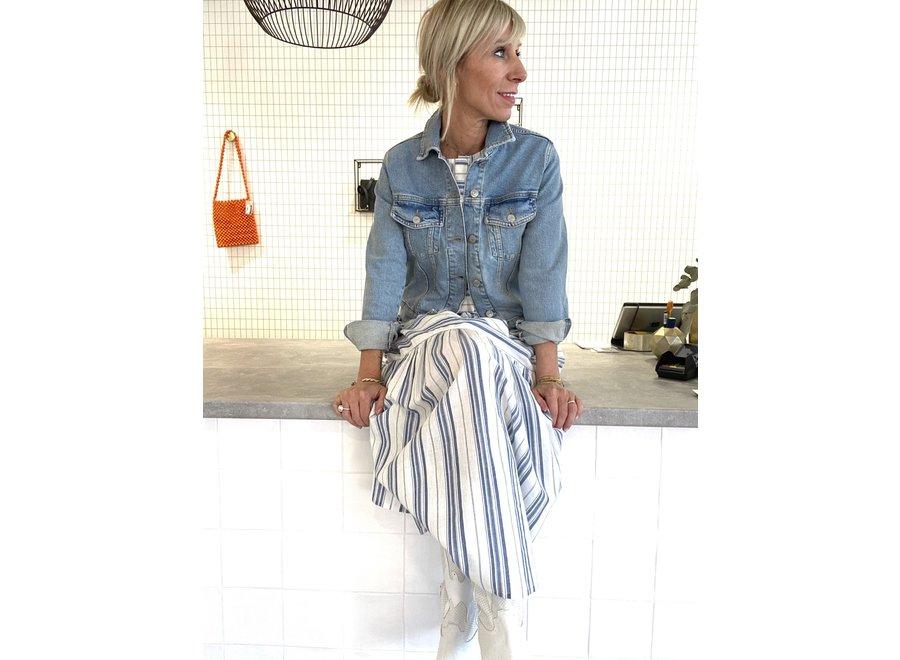 Story denim jacket light blue SF