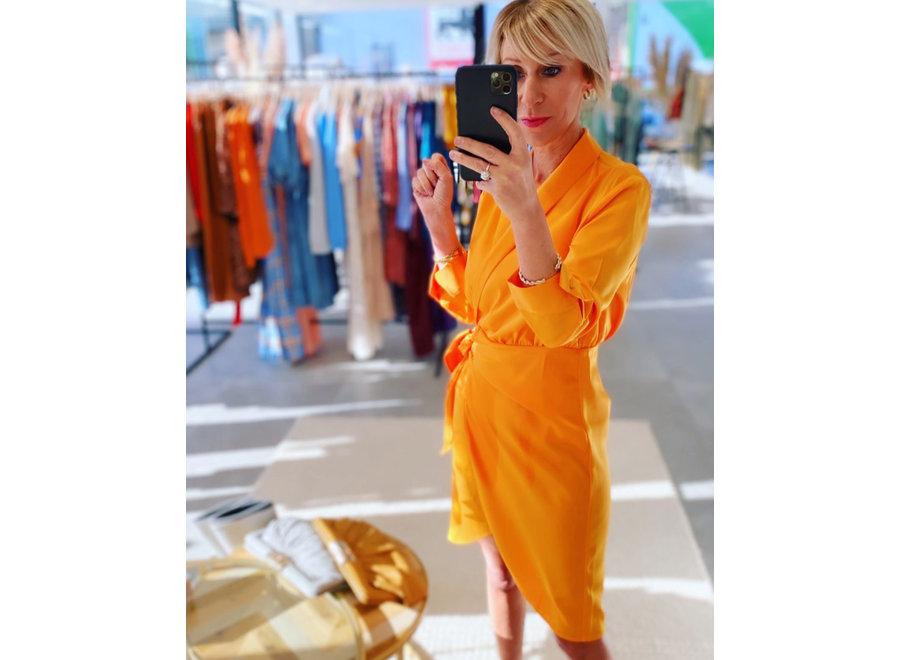 Cadmi Dress yas yellow