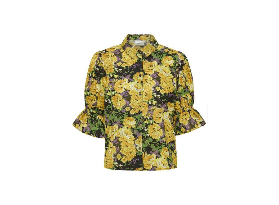 Cassia shirt yellow flower GZ