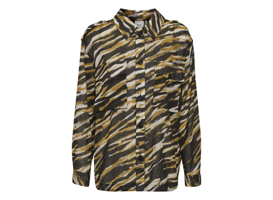 Crisanta shirt army tiger GZ