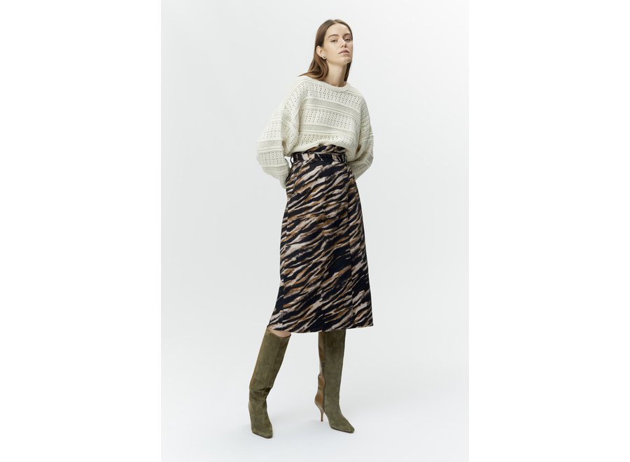Feline skirt army tiger GZ