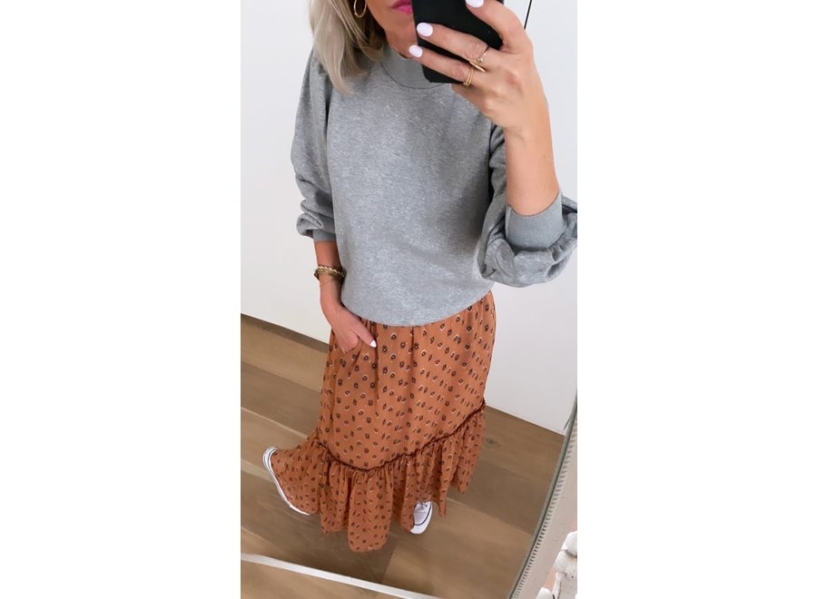 Moni gipsy skirt cantaloupe CC