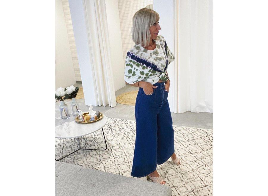Dea gaucho jeans blue GZ