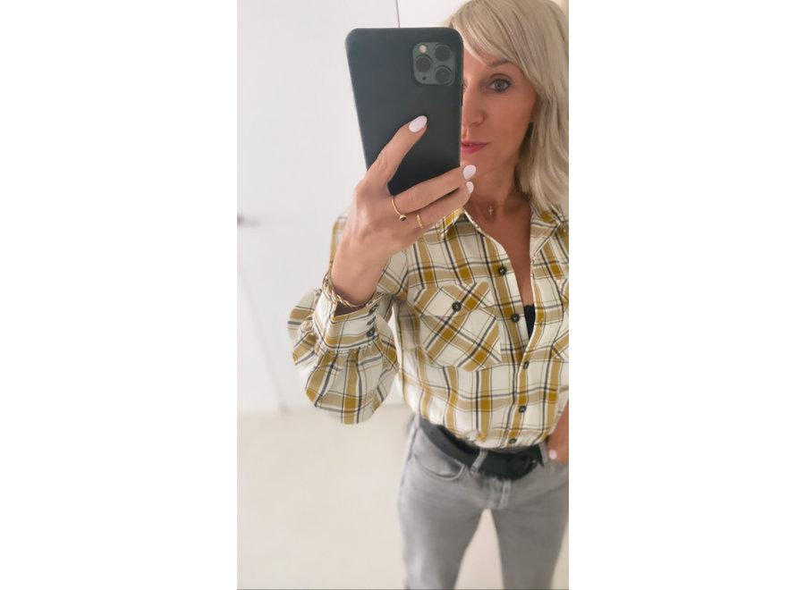 Chloe shirt yellow check GZ