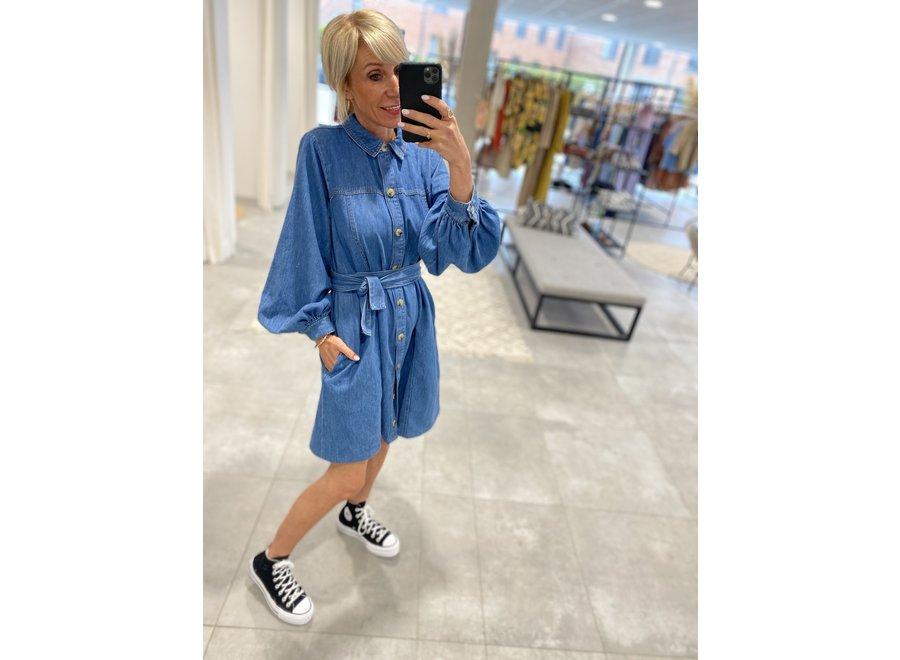 Kayo dress blue GZ