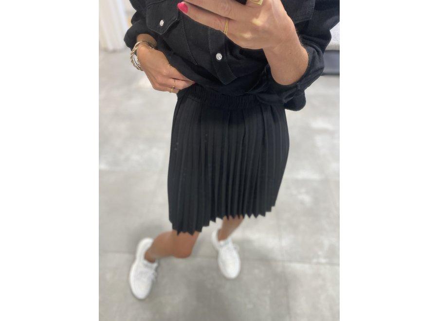 Alexis short skirt black SF