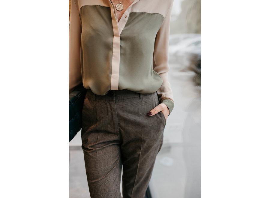 Hajdi shirt lichen green