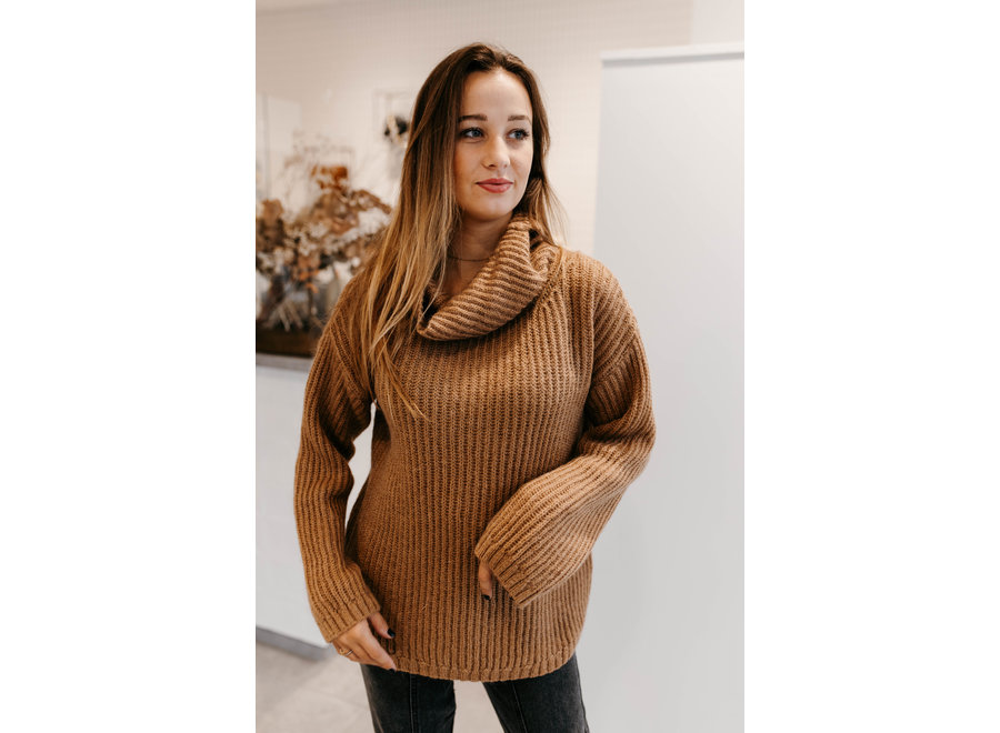 Dixie pull brown camel