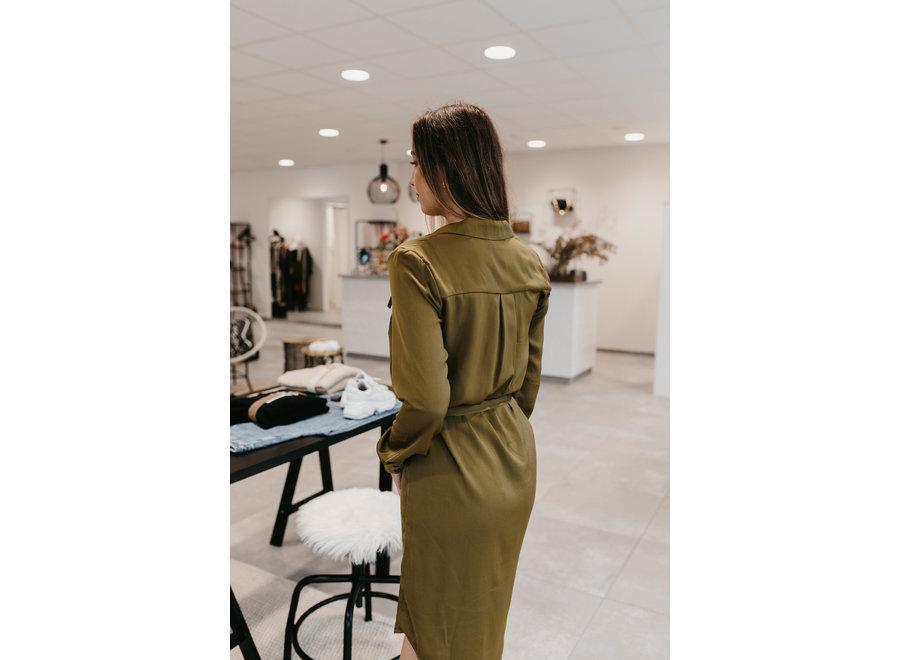 Kana dress fir green